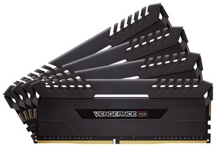 Corsair Vengeance LED RGB 32GB (4 x 8GB) DDR4 2666MHz C16