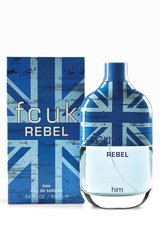 Tualettvesi FCUK Rebel EDT meestele 100 ml