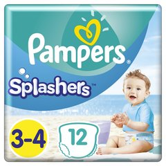 Mähkmed PAMPERS Pants Splashers, 3 suurus 6 - 11 kg, 12 tk цена и информация | Подгузники | kaup24.ee