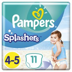 Mähkmed PAMPERS Pants Splashers, 4 suurus 9 - 15 kg, 11 tk