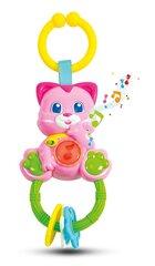 Muusikaline kõristi Kassipoeg Clementoni Baby hind ja info | Imikute mänguasjad | kaup24.ee