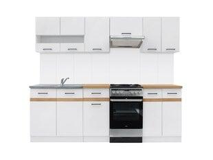Köögimööbli komplekt Junona Line 230, valge