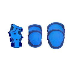 Laste rulluisu kaitsmete komplekt Spokey Buffer, sinine