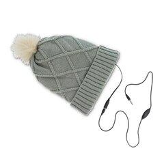Integreeritud kõrvaklappidega müts Forever, hall