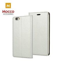 Telefoni ümbris Mocco Smart Modus Book Case, sobib Samsung A320 Galaxy A3 (2017)telefonile, hõbedane