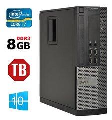Lauaarvuti DELL 9010 SFF i7-3770 8GB 1TB WIN10Pro