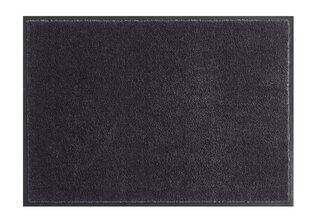 Uksematt Hanse Home Soft & Clean Black, 140x200 cm hind ja info | Uksematid | kaup24.ee