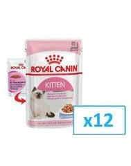 Konservide komplekt kassipoegadele Royal Canin Kitten Instinctive Loaf, 0,085 kgx 12 tk