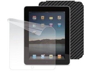 KaitsekileSkin Kits Cover Sticker Carbon Apple iPad tahvelarvutile