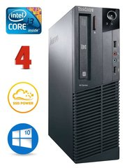 Lauaarvuti Lenovo ThinkCentre M82 SFF i3-3240 4GB 120SSD DVD WIN10Pro