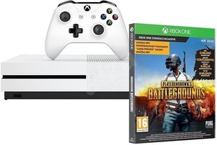 Mängukonsool Microsoft Xbox One S 1TB + PlayerUnknowns Battlegrounds