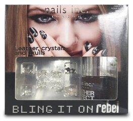 Набор Nails Inc. Bling It On Rebel цена и информация | Лаки для ногтей, укрепители для ногтей | kaup24.ee