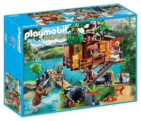 Kонструктор 5557 PLAYMOBIL® Wild Life, Adventure Tree House