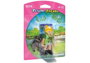 Конструктор 9074 PLAYMOBIL® Playmo-Friends, Zookeeper with Baby Gorilla