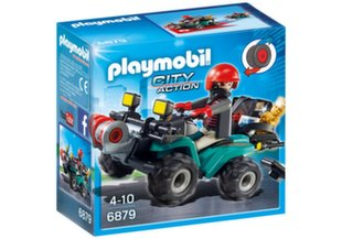 6879 PLAYMOBIL® City Action ATV ja sõitja