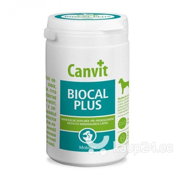 Vitamiinid koertele CANVIT BIOCAL PLUS N500, 500 g