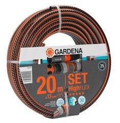 """Voolik Highflex, Gardena 10x10 (1/2""""), otsikud ja voolik komplektis"""