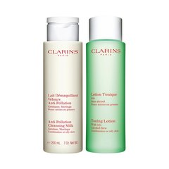 Komplekt Clarins Cleansing Duo Oil 2 x 200 ml