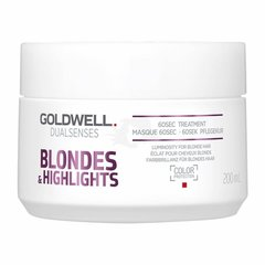 Маска для волос Goldwell Dualsenses Blondes & Highlights 60 sek. 200 мл