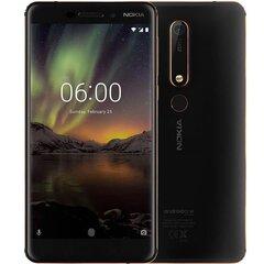 Mobiiltelefon Nokia 6 (2018) 32GB, Dual SIM, must