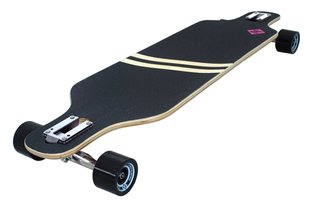 Rula Street Surfing Longboard Freeride Drop Trough 39 - Stripes