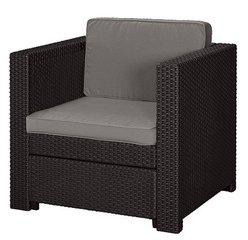 Aiatugitool Riviera armchair, pruun hind ja info | Aiatoolid | kaup24.ee