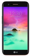 LG K10 (2017) M250N, Single SIM, Черный