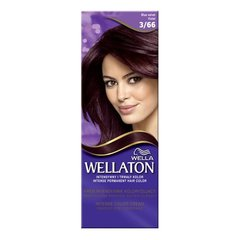 Juuksevärv Wella Wellaton Intense Permanent Color 3/66 lilla 100 g