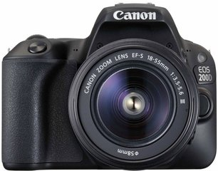 Canon EOS 200D + 18-55mm DC III Kit, must