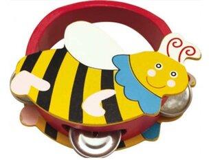 Puidust tamburiin Herilane PlayMe hind ja info | Imikute mänguasjad | kaup24.ee