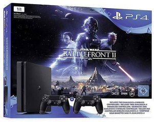 Mängukonsool Sony PlayStation 4 Slim 1TB + Star Wars Battlefront 2