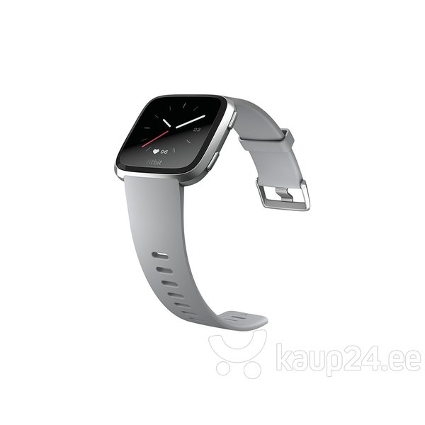 Fitbit Versa - Gray / Silver Aluminum, hall/hõbedane