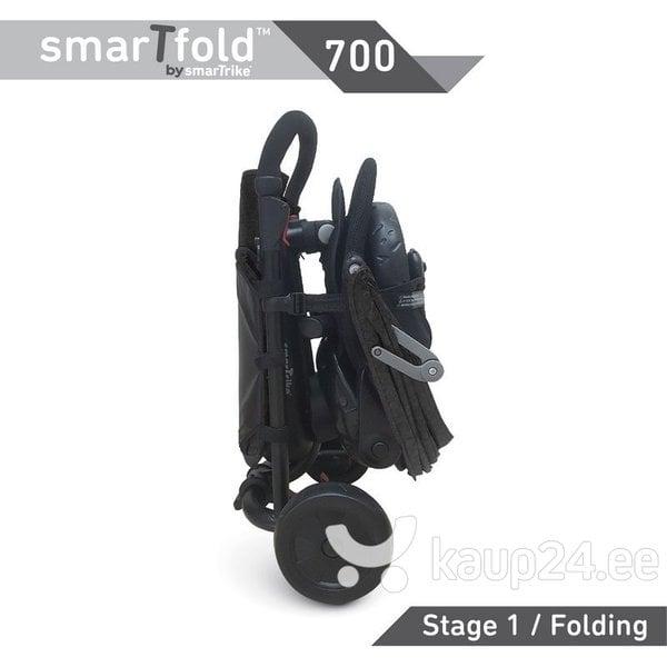 Kolmerattaline jalgratas SmartTrike 700 8 in 1, must tagasiside