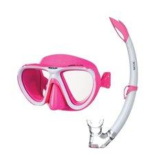 Laste sukeldumiskomplekt Seac Bis Bella Color, roosa hind ja info | Ujumine, sukeldumine | kaup24.ee