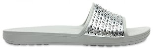 Женские шлепанцы Crocs™ Sloane Graphic Etched Slide