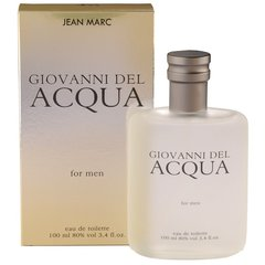 Tualettvesi Jean Marc Covanni Del Acqua For Men EDT meestele 100 ml
