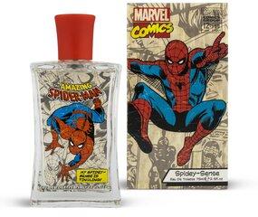 Tualettvesi Marvel Spiderman EDT poistele/tüdrukutele 75 ml цена и информация | Духи для детей | kaup24.ee