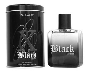 Tualettvesi Jean Marc X Black For Men EDT meestele 100 ml