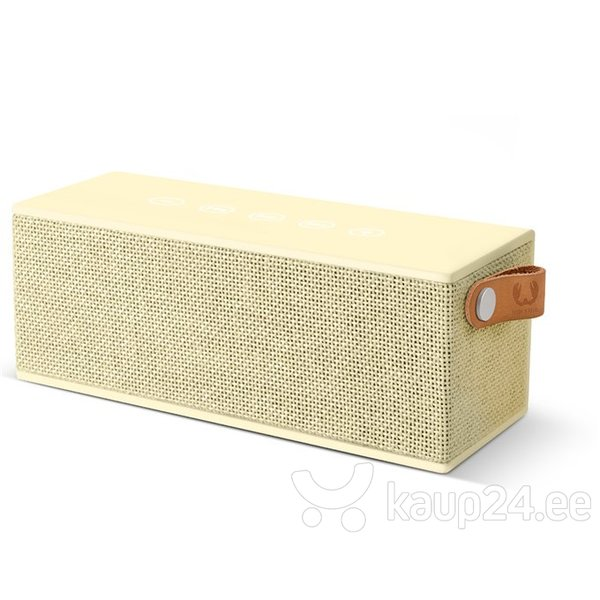 Bluetooth kõlar Fresh'N Rebel Rockbox Brick, helekollane