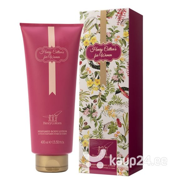 Lõhnastatud kehalosjoon Henry Cotton's For Women naistele 400 ml