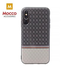 Kaitseümbris Mocco Trendy Grid And Stripes Silicone Back Case Apple iPhone 7 Plus / 8 Plus Grey (Pattern 2)