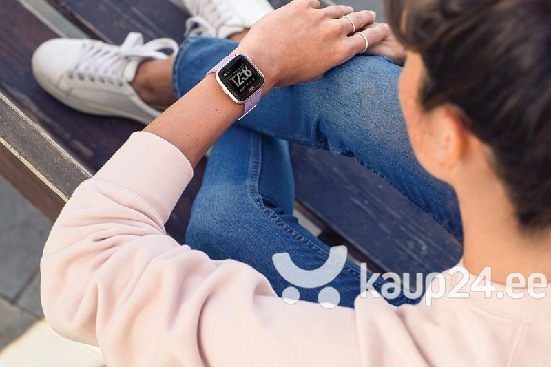 Fitbit Versa, Special Edition Lavender, helelilla
