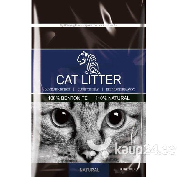 Lõhnatu paakuv kassiliiv Tiger Pet, 5 l