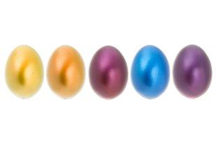 Läikivad lihavõtte munad Verso