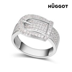 Naiste sõrmus Hûggot, hõbedane I