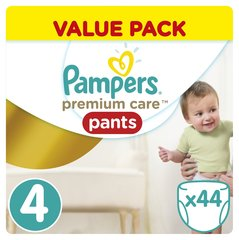 Mähkmed PAMPERS Premium Care Pants suurus 4, 44tk
