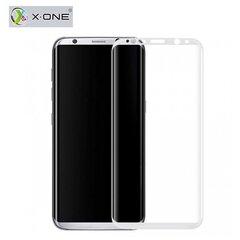 Karastatud kaitseklaasX-One Pro HD Quality 3D Tempered Glass, sobib Samsung G950 Galaxy S8 telefonile, läbipaistev/valge