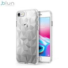 Blun 3D Prism Особо тонкий силиконовый чехол-крышка для Huawei P20 Lite Прозрачный цена и информация | Blun 3D Prism Особо тонкий силиконовый чехол-крышка для Huawei P20 Lite Прозрачный | kaup24.ee