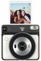 Fotoaparaat Fujifilm Instax SQUARE SQ6 + Instax SQUARE Glossy (10 paberit), valge