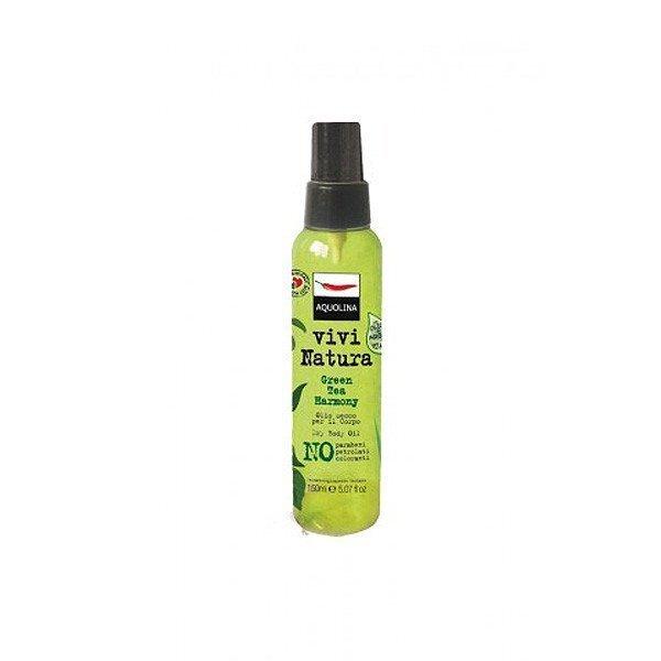 Сухое масло для тела Aquolina Vivi Natura Green Tee Harmony 150 мл
